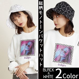 Repeating Pattern BUCKET HAT Korea Unisex