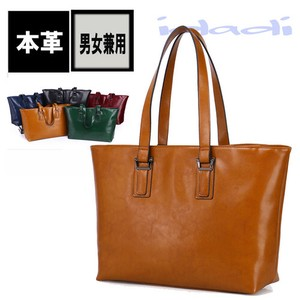 Oil Leather Big Tote