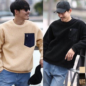 Neck Sweatshirt Sweat Top Men's