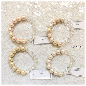 Cotton Pearl Glass Bracelet