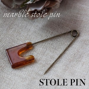 Stole pin Antique Marble Stole pin