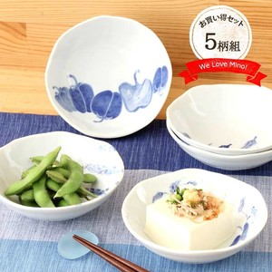 Mino Ware Bowl Ceramic Mino Ware Bowl Vegetables Vegetable 3.5
