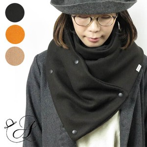 Knit Melton Snap Snood  スヌード