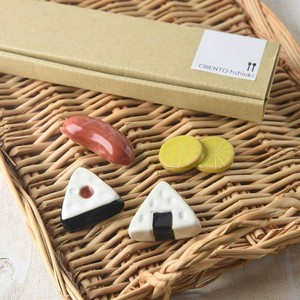 with box Set BENTO Chopstick Rest Gift Set MINO Ware