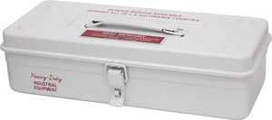 Mercury Tool Box White