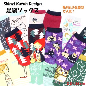 SHINZI KATOH Ladies Tabi Socks Socks