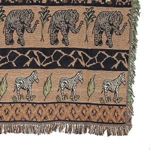 【DULTON ダルトン】JACQUARD THROW ''SAFARI''