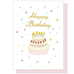 Birthday Cake Music Box Card Birthday Birthday