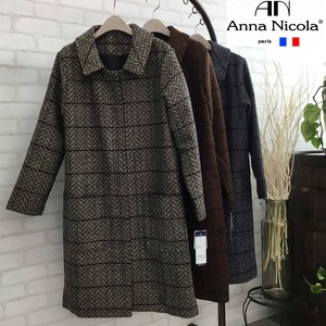 Catalog Wool Deformation Leaf Coat