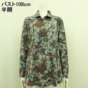 A/W Gigging Floral Pattern Attached Tunic