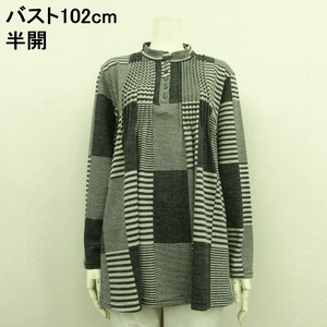 A/W Gigging Square Pattern Tuck Tunic