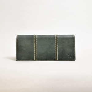 Genuine Leather Smallish Long Wallet
