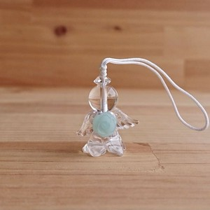 Angel Charm Amazonite Flower