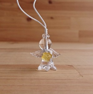 Angel Charm Citrine Flower