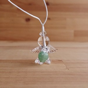 Angel Charm Aventurine Heart