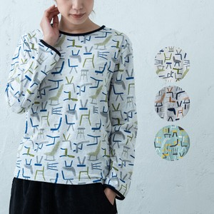 S/S Repeating Pattern Print Long
