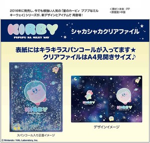 Kirby of the Stars Milky Way Plastic Folder