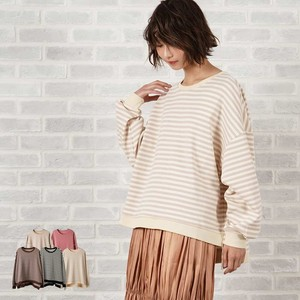 A/W Jacquard Over Long T-shirt Pullover