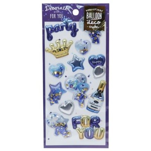 DECO Balloon Sticker