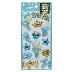 DECO Balloon Sticker Mint