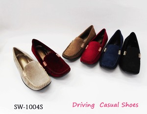 Shoes Gold Metal Fittings Flat Casual