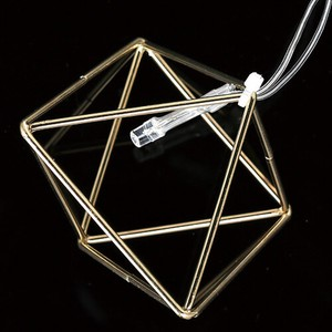 【DULTON ダルトン】DAZZLING LIGHT DIAMOND SHAPE S.GOLD