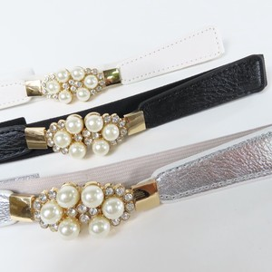Pearl Attached Elastic Belt