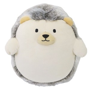Soft Toy Animal Puffy Cushion Hedgehog
