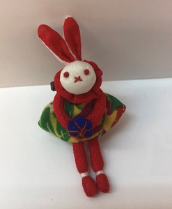 Skirt Rabbit Brooch