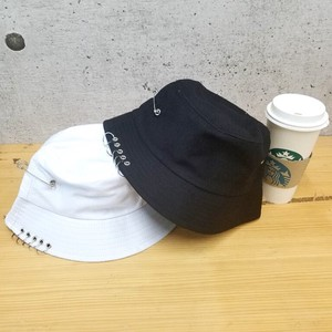 Safety Pin Ring BUCKET HAT Korea Unisex