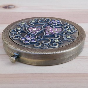 Design Compact Mirror Bronze Each Type Assort