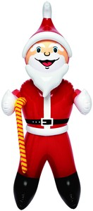 Santa Balloon Middle