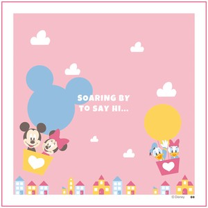 DISNEY Lunch Box Wrapping Cloth