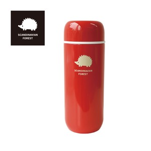 SCANDINABIAN FOREST Stainless bottle Red