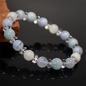 Blue Lace Aquamarine Moon stone