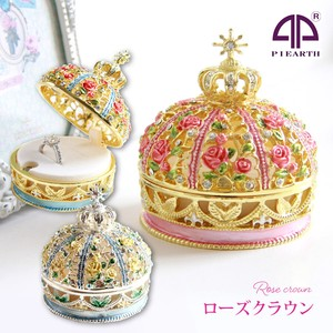 Registration of a design Rose Crown Jewelry Box Jewelry