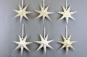 Paper Star Ornament Set