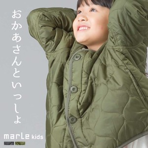 Kids Wave Quilt Short Jacket Kilting Jacket