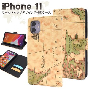 Map Design iPhone Map Design Notebook Type Case