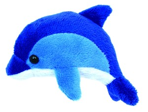 Anywhere Lens Key Ring Dolphin Blue