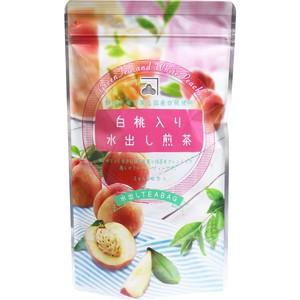 ※白桃入り水出し煎茶 水出しティーバッグ 3g×20包入【食品・サプリメント】
