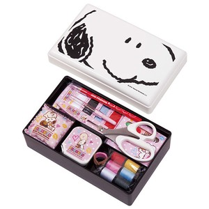 Sewing Set Character Snoopy Set Compact Type