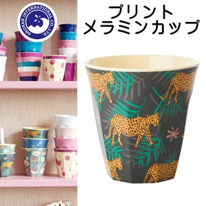 Print Melamine Cup Leopard