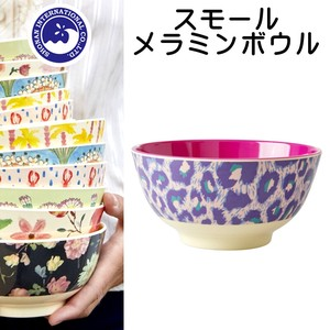 Small Melamine Bowl Leopard