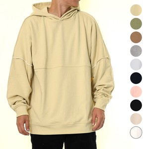 A/W 10 Colors Unisex Color Scheme Out Fleece Big Sweat Hoody