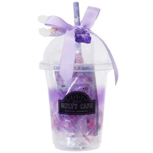 Stationery Set Cup Gift Set Purple