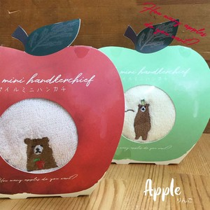 Embroidery Apple Handkerchief