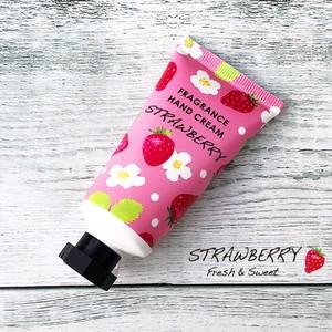 イチゴの香りのハンドクリーム【甘いストロベリーの香り】