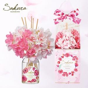 【季節限定】桜の香りの芳香剤 まるで本物の桜みたいなリードディフューザー【華やかなサクラの香り】