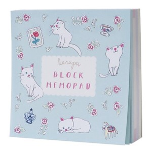 Memo Pad Block Memo Pad Cat